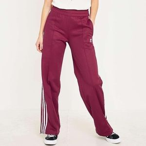 Adidas Ruby colored NWT contemporary track pants